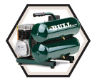Air Compressor - Hand Carry - 2 HP / FC2002 *THE BULL
