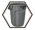 BRUTE® Container w/o Lid- 55 gal.