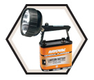 Lantern w/ Swivel Head - 6 V / Battery