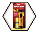 Yellow Flashlight w/ Ring Hanger - 2D / CI2D-BC
