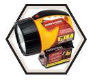 Floating Lantern w/ Swivel Head - 6 V / I6V-B2A