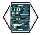 "Socket Set - 149 Pc - 1/4"" & 3/8"" & 1/2"" - SAE/Metric / 13849"
