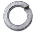 Lock Washer - Helical Spring - Steel / Hot Dipped Galvanized