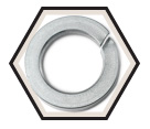 Lock Washer - Helical Spring - A2 Stainless Steel