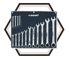 15 Piece Ratcheting Wrench Set / 34165