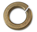 Lock Washer - Helical Spring / Silicon Bronze