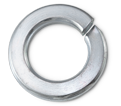 Lock Washer - Helical Spring - Steel / Zinc