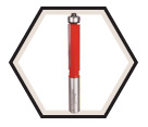 "Bearing Flush Trim Bit - 1/2"" / 42-116"