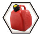 Fuel Container - Gas - Red / AB Series