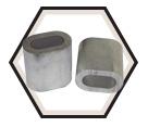 Sleeves - Oval / Aluminum