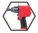 "Impact Wrench - 3/8"" (10 mm) / IW38HAP-3F"