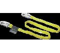 Shock-Absorbing Lanyard - Woven Inner Core - 3/4 Gate Snap Hooks / 216WLS-Z7 Series