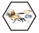 Roofers Kit - 50' - 6 pc / BRFKT50/50FTC *TITAN