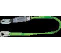 Energy Absorbing Lanyard - 6' - Snap Hook / HL-B6FTSL *HYBRID BACKBITER