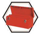 International Hip Roof Hand Box - 20""