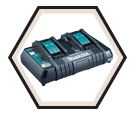 Dual Port Charger - Rapid - 18V Li-Ion / DC18RD Series *LXT