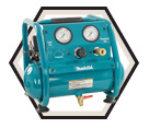 Air Compressor - Hand Carry - 1 HP - 1 gal / AC001