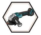 """Angle Grinder (Tool Only) ADT™ - 4-1/2"""" dia. - 18V Li-Ion / DGA454Z"""