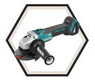 "Angle Grinder (Tool Only) - 5"" dia. - 18V Li-Ion / DGA504Z *XPT"
