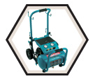 Portable Air Compressor - 3 HP -  5.2 gal / MAC5200