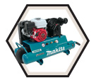 Wheelbarrow Air Compressor - 5.5 HP - 10 gal / MAC5501G