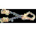 "Rebar Chain Assembly Lanyard - 2.25"" (57mm) Gate / 10107326"
