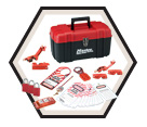 Personal Lockout Kit - 14 pc - Electrical Focus / 1457E1106KA