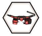 Tool Belt - 29 Pockets - Ballistic Nylon / 48-22-8110 *ELECTRICIAN'S