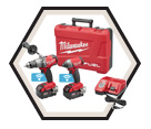2 Tool Combo Kit M18 FUEL™ - 18V Li-Ion / 2795-22 *ONE-KEY™