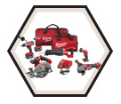 6 Tool Combo Kit - 18 V Li-Ion / 2896-26 *FUEL