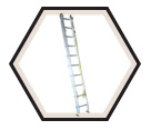 Aluminum Box Rail Extension Ladder / 4200 Series