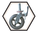 "505 Series Scaffold Caster - 8"" / 505-05"