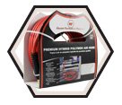 "Air Hose - 1/4"" MPT - Polyurethane / 1400 Series *SERPENT"