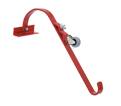 Ladder Hook - w/ Wheel - Steel / 2481