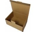 "Corrugated Box - 6"" x 4-3/4"" x 3"" - Brown / #B"