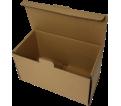 "Corrugated Box - 8"" x 4-1/4"" x 4-5/8"" - Brown / #C"