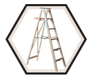 Wood Stepladder HD / 89 Series