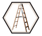 Wood Stepladder / 99 Series