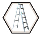 Aluminum Stepladder HD / A403 Series