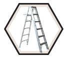 Aluminum Stepladder XHD / A412 Series