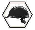 Cap Style Ratchet Suspension Hard Hat - North Zone / N10R