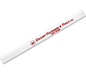 Carpenter Pencil - Calfast Logo - White / PENCIL CARP
