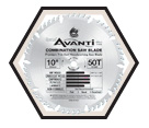 Thin Kerf Combination Blade - 10""