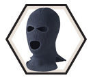 Balaclava - Acrylic Knit / Three Holes