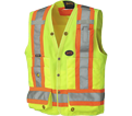 Surveyor's Safety Vest - Unlined - Twill Polyester / 669 Series