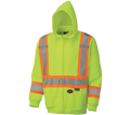 Safety Hoodie - Poly Fleece - Hi-Viz Yellow / 6925 Series