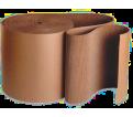 Corrugated Cardboard - Single Face - 20-26 Lbs. - Brown / CB Series (250'/RL) *REGULAR DUTY