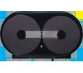 Toilet Paper Jumbo Roll Twin Dispenser
