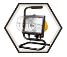 Halogen Work Light - 500W