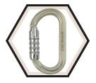 Carabiner - Oval - Steel / M72TL Series *OXAN